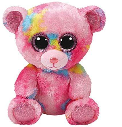 TY BEANIE BOOS FRANKY OSO MULTICOLOR