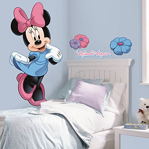 ROOM MATE MINNIE MOUSE GIANT APPLIQUE RMK1509GMDK