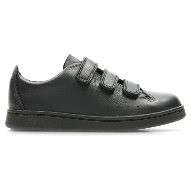 CLARKS ZAPATO NATE LACE BLACK LEATHER