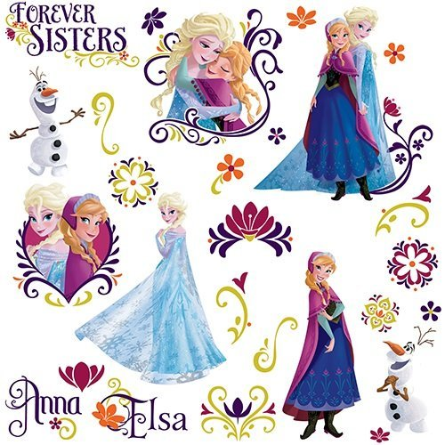 ROOM MATE FROZEN SPRING WALL DECALS PEEL & STICK