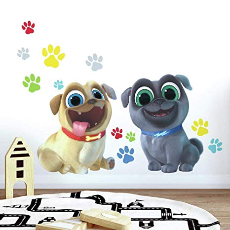 ROOM MATE PUPPY DOG PALS DECALS PEEL & STICK