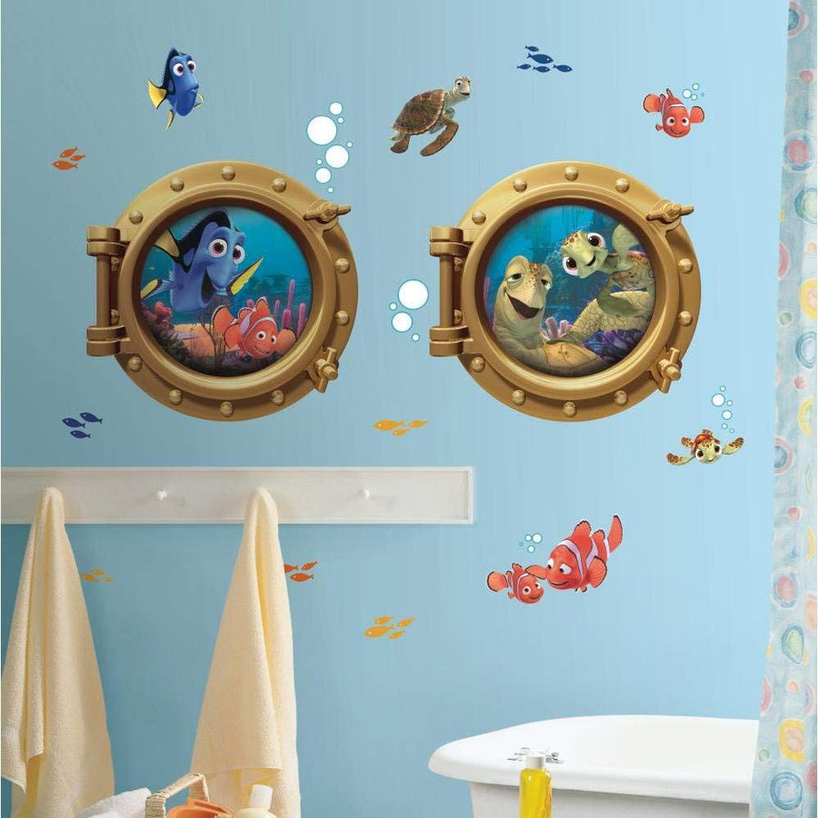 ROOM MATE FINDING NEMO GIANT WALL DECALS PEEL & STICK