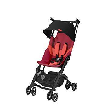 GB COCHE POCKIT + ALL TERRAIN Y ROSE RED RED