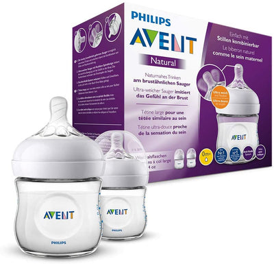 AVENT BIBERON NATURAL 20 4OZ 2PK