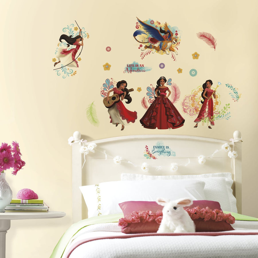 ROOM MATE PRINCESS ELENA AVALOR DECALS PEEL & STICK