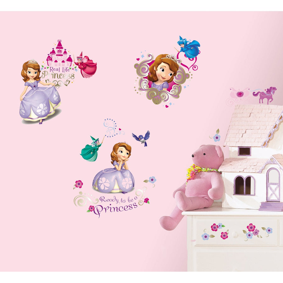 ROOM MATE SOFIA THE FIRST WALL DECALS PEEL & STICK