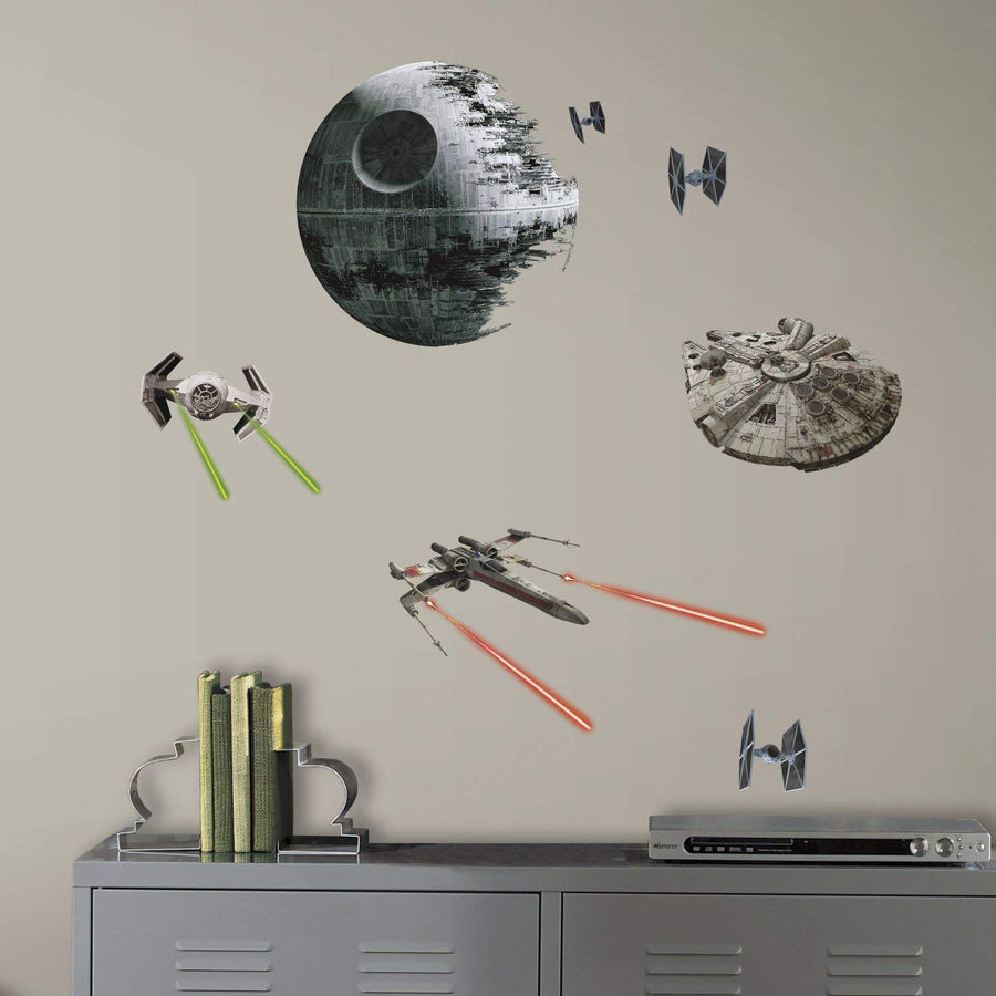 ROOM MATE STAR WARS CLASSIC SPACE SHIPS