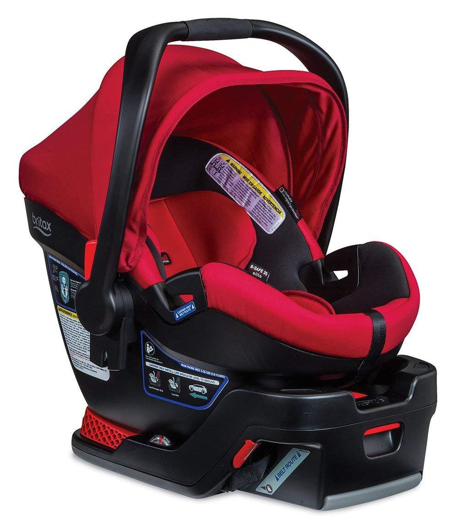 BRITAX SILLA DE CARRO B SAFE RED PEPPEr