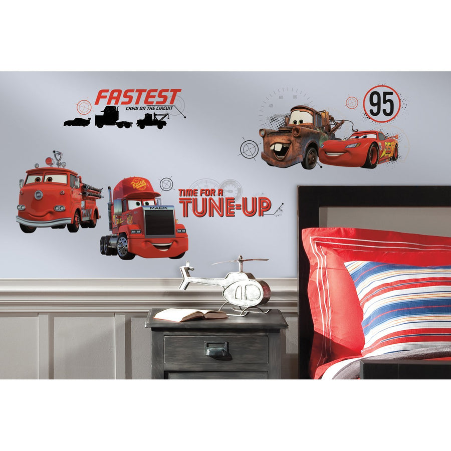 ROOM MATE DISNEY CARS FRIENDS TO FINISH RMK2533CS