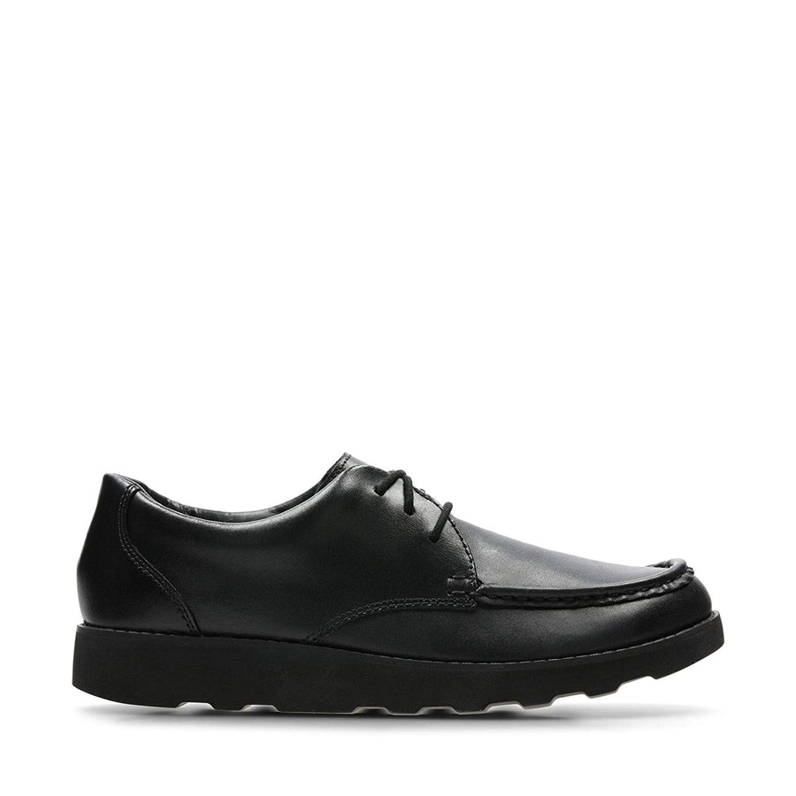 CLARKS ZAPATO HULA THRILL BLACK LEATHER