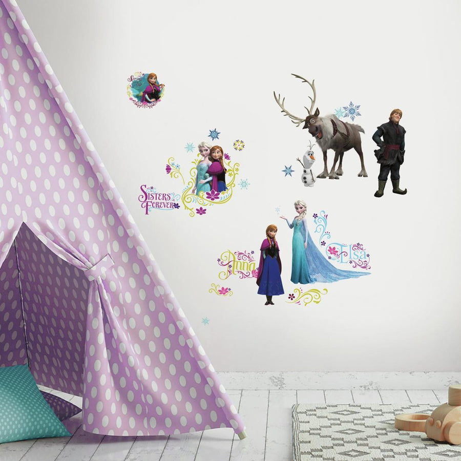 ROOM MATE FROZEN WALL DECALS PEEL & STICK