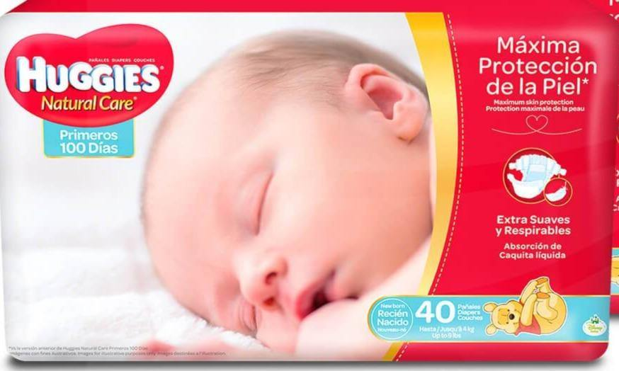 HUGGIES NATURAL CARE RECIEN NACIDO 20PC
