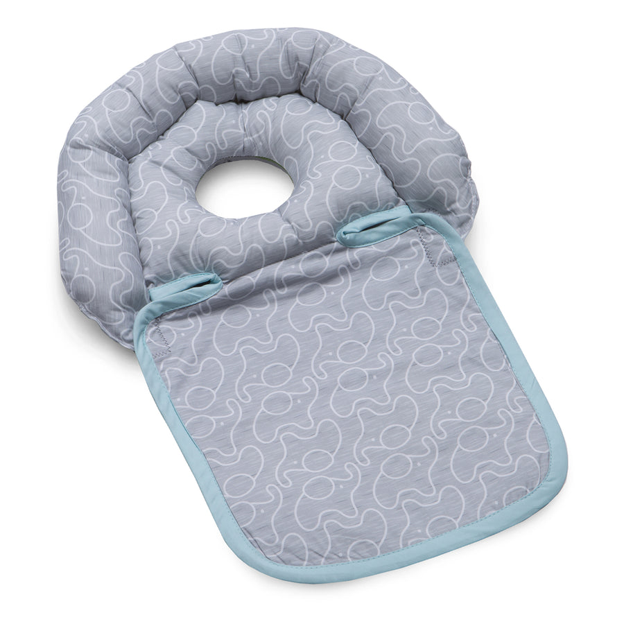 BOPPY ALMOHADA NOGGING NEST ELEPHANT GRAY MINT