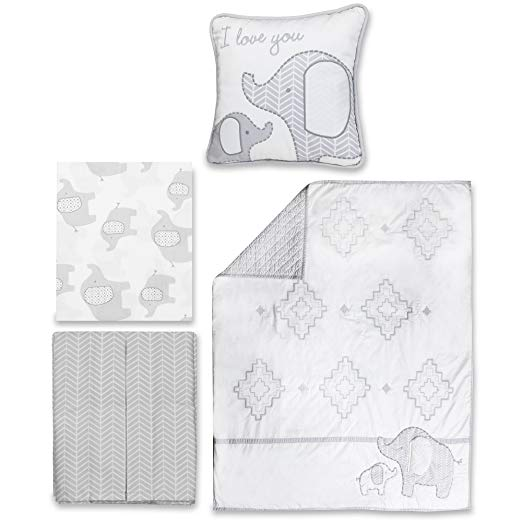 WENDY BELLISSIMO JUEGO COLCHA 4PC HUDSON