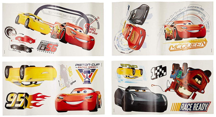 ROOM MATE CARS 3 WALL DECALS