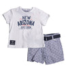 LOSAN HAPPY FASHION CONJUNTO DE SHORT PARA BEBE NIÑO