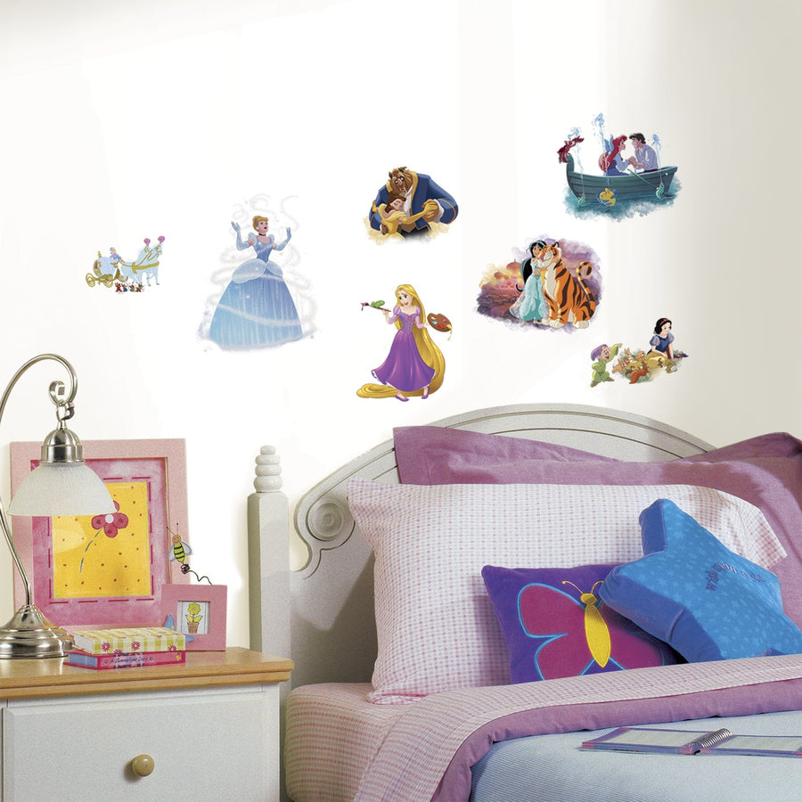 ROOM MATE DISNEY PRINCESS DREAM BIG PEEL & STICK