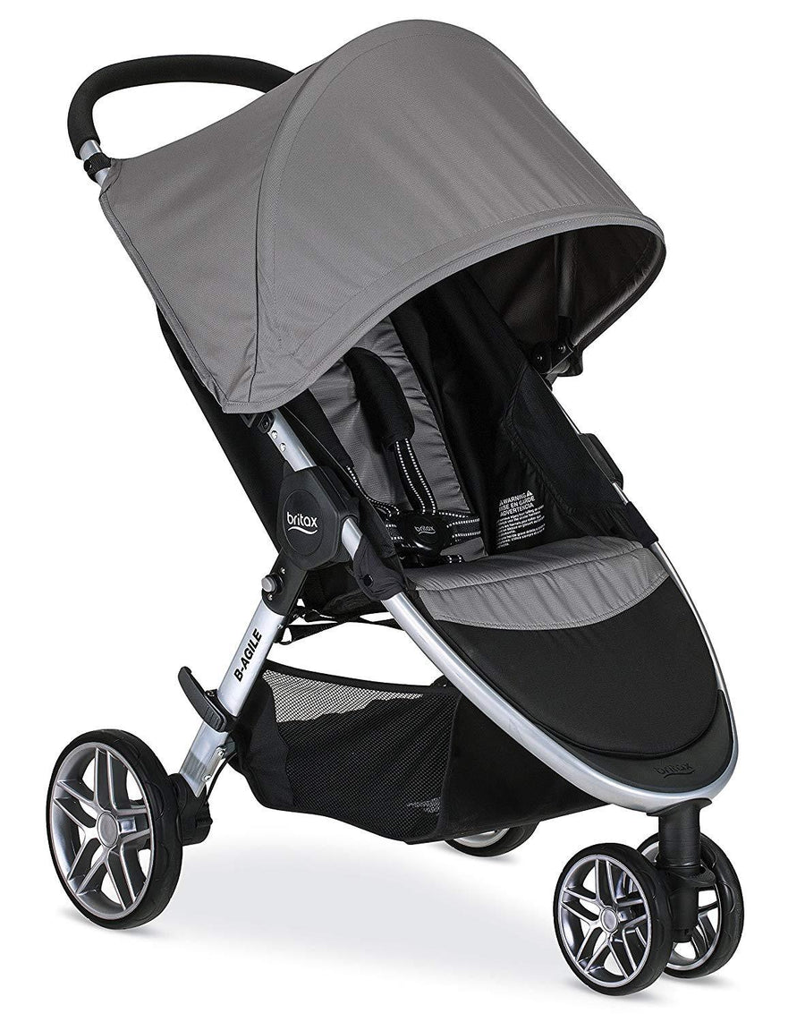 BRITAX COCHES / B AGILE 3 STROLLER US/CAN STEEL