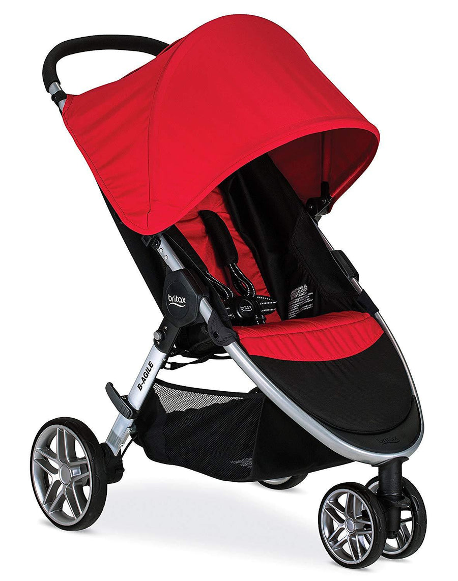 BRITAX COCHES / B AGILE 3 STROLLER US/CAN RED