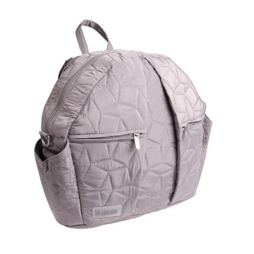 MI NENE OLIVIA QUILT BAG LIGHT GRAY PAÑALERA