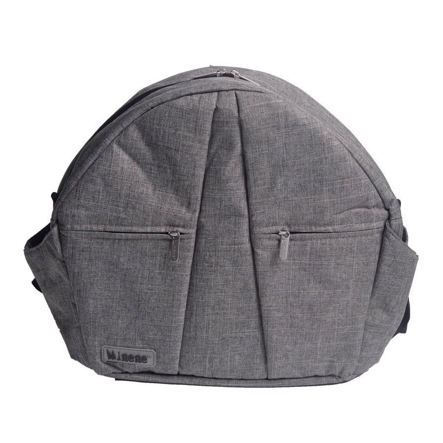 BOLSA PARA PAÑALES DARK GREY CHAMBRAY