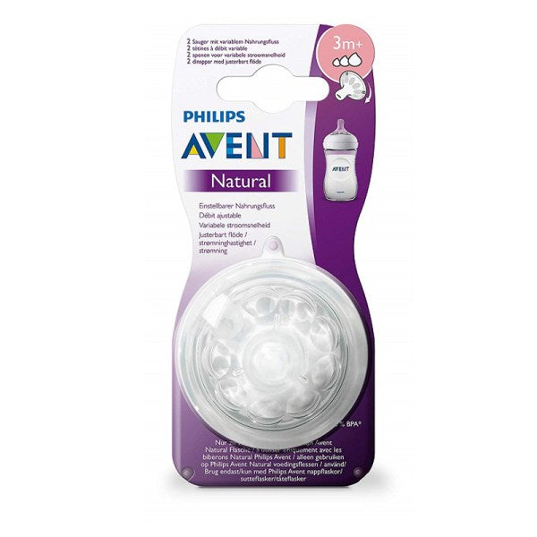AVENT TETINA NATURAL FLUJO VARIABLE
