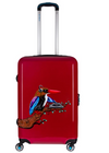 BG BERLIN URBE LUGGAGE SET TROPICAL SAUND (RED) 24
