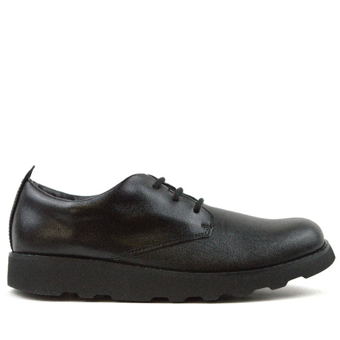 CLARKS ZAPATO CROWN LONDON BLACK LEATHER
