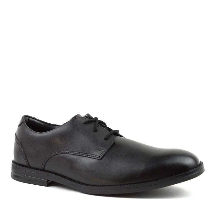CLARKS ZAPATO RUFUS EDGE BL BLACK LEATHER