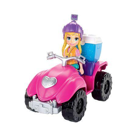 POLLY POCKET ADVENTURE DOLL AND ACC