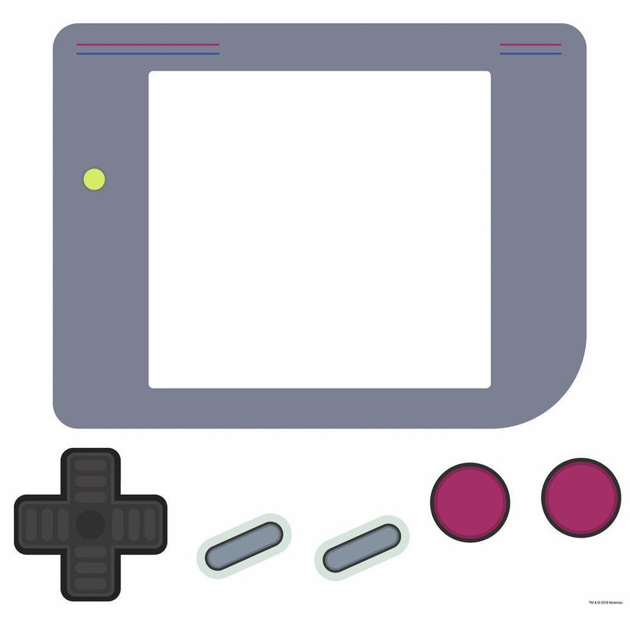 ROOM MATE NINTENDO GAMEBOY DRY ERASE PEEL & STICK