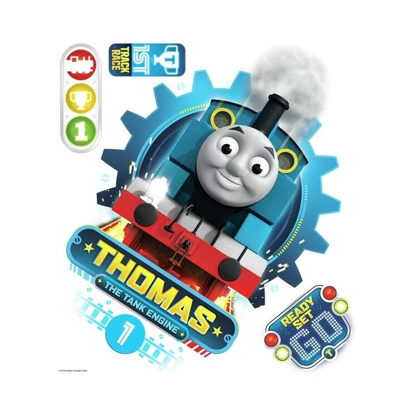 ROOM MATE THOMAS THE TANK ENGINE GIANT PEEL & STICK