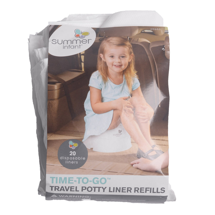 SUMMER TRAVEL POTTY LINER REFILLS