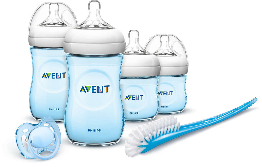 AVENT SET DE RECIEN NACIDO NATURAL CELESTE