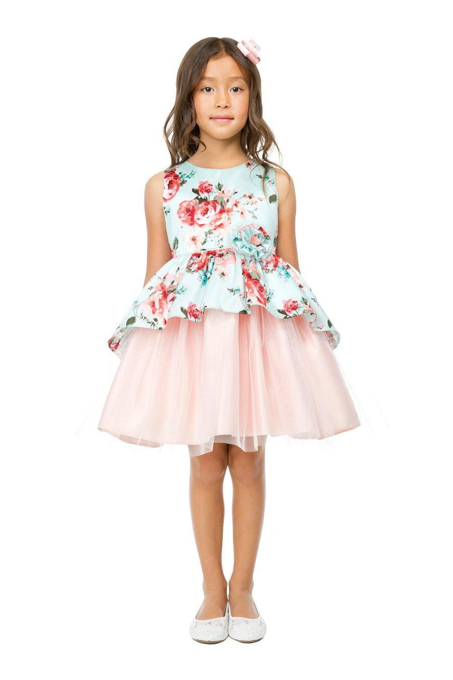 SWEET KIDS VESTIDO OFF WHITE
