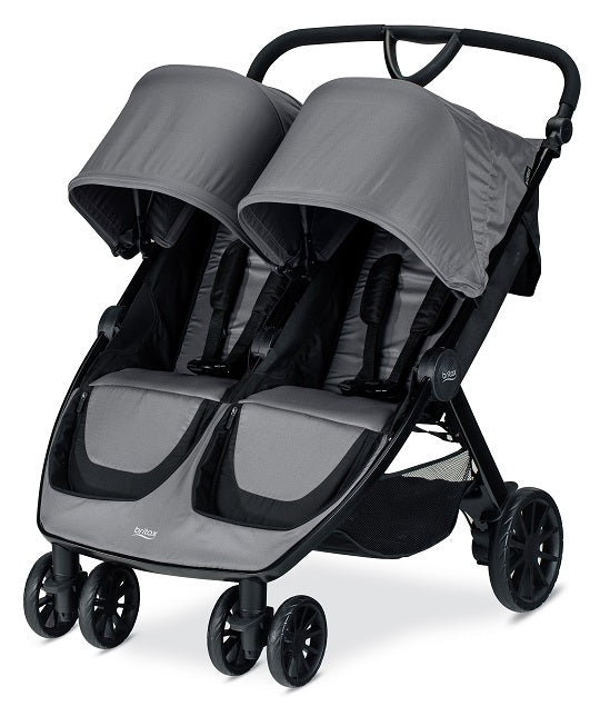 BRITAX COCHES B-LIVELY DOUBLE DOVE GRIS