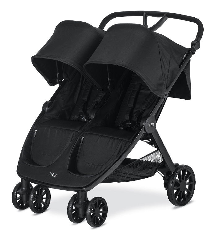 BRITAX COCHES / B-LIVELY DOUBLE US/CAN RAVEN