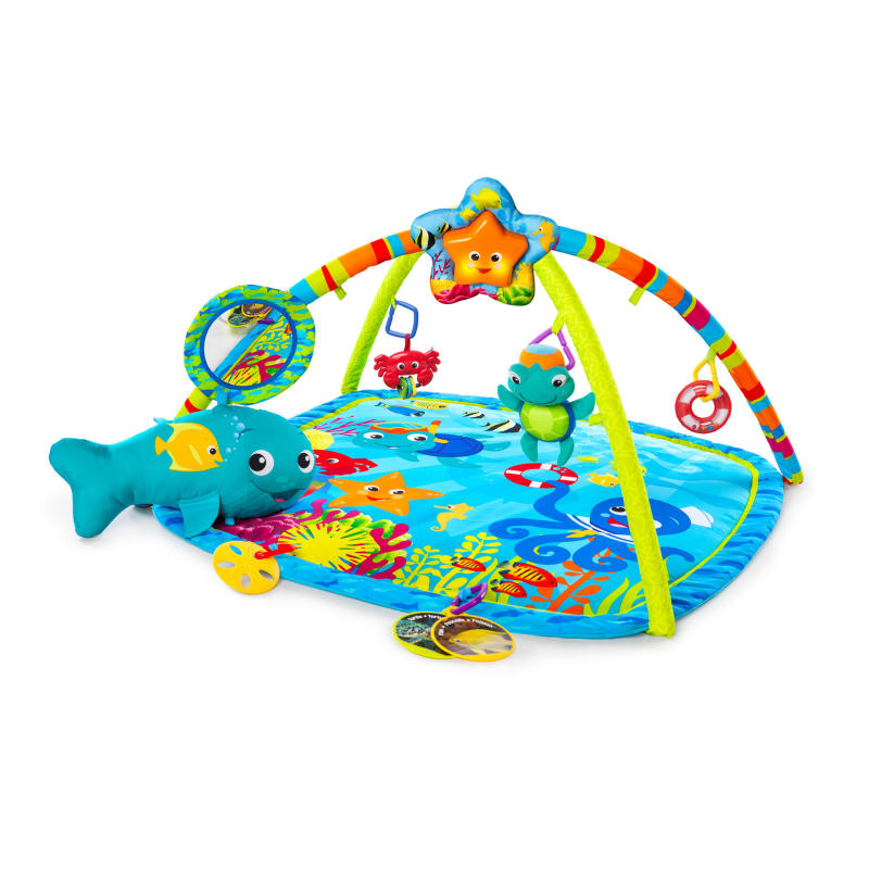 KIDS II BABY NEPTUNE NAUTICAL FRIENDS PLAY GYM