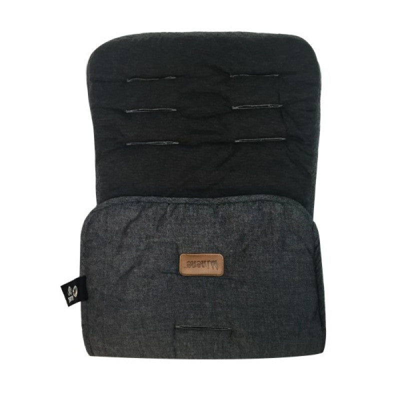 MI NENE SET FORRO PARA SILLA DE CARRO BLACK DENIM