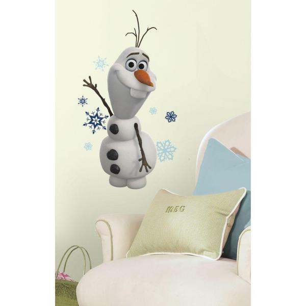ROOM MATE FROZEN OLAF THE SNOW MAN DECAL PEEL & STICK