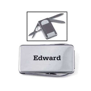MIP Personalized Stainless Steel 3-Tool MONEY CLIP engraved