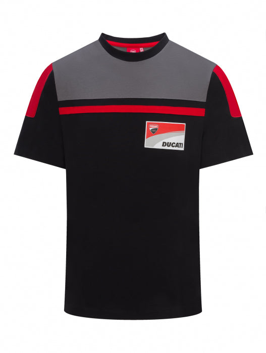 T-Shirt Ducati Corse black and gray official collection