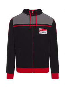 Hoodie fleece Ducati Corse official collection