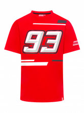Load image into Gallery viewer, T-shirt Marc Marquez 93 official collection