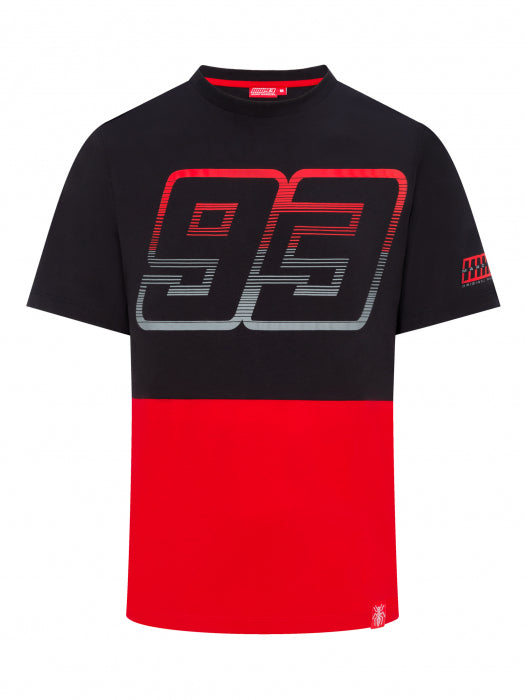 T-shirt Marc Marquez black and red official collection