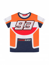 Load image into Gallery viewer, kids t-shirt Marc Marquez Repsol Colors official collection