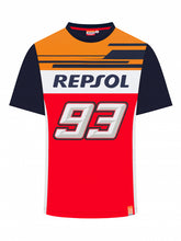 Load image into Gallery viewer, T-shirt Marc Marquez Repsol Dual 93 official collection