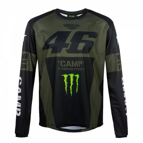 T-shirt VR46 Monster Camp long sleeve official collection