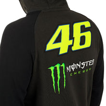 Load image into Gallery viewer, Zip hoody men's official VR46 Monster Valentino Rossi Collection