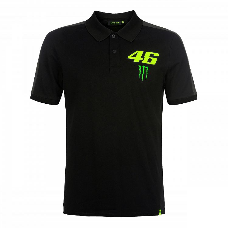 Polo shirt VR46 Monster official Valentino Rossi